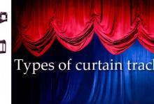 Stage Curtain tracks